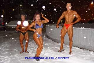 Musclor dans le blizzard