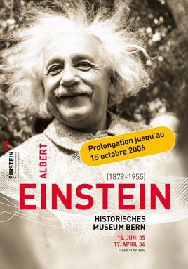 Expo Albert Einstein Bern 2005-2006