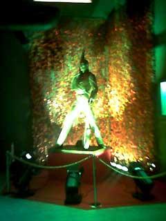 La statue de Freddy Mercury, spécialement acheminée depuis Montreux