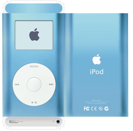 iPod + Origami = iPod-igami